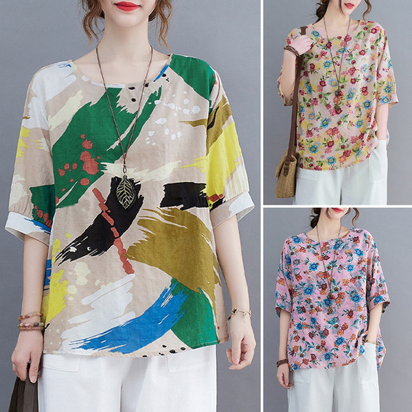 holidayshirt, printedtop, Fashion, baggyshirt