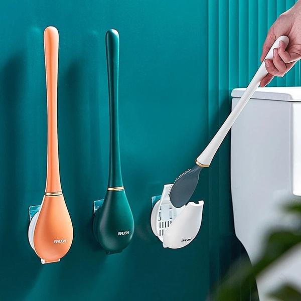 Bathroom, Bathroom Accessories, toiletcleaningbrush, Silicone