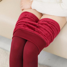 Fleece, Warm Leggings, fur, Fashion