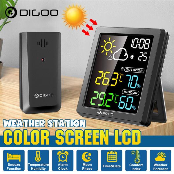 weather forecast, Temperature, desktopclock, Clock
