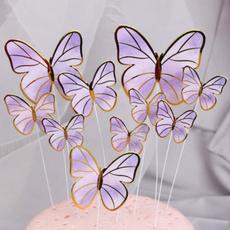 butterfly, cakeinsert, caketoppercard, weddingcaketopper