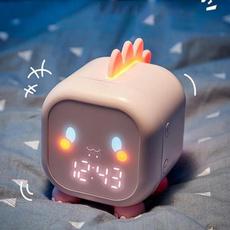 cute, bedsideclock, Night Light, Gifts