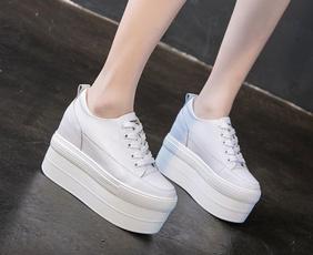 casual shoes, wedge, Fashion, Platform Shoes