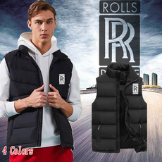 sleevelessdowncoat, Vest, Fashion, Winter