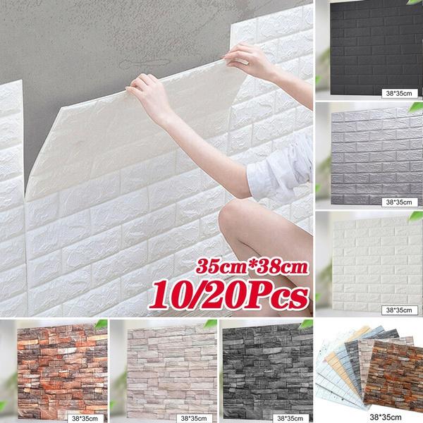 wallartsticker, selfadhesivewallpaper, forlivingroom, pecottonwallsticker