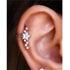 Hoop Earring, Jewelry, cartilage earrings, czearring