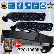 securitycamerasystem, telecamerevideosorveglianza, Outdoor, led