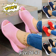 casual shoes, Summer, sandals for women, Outdoor