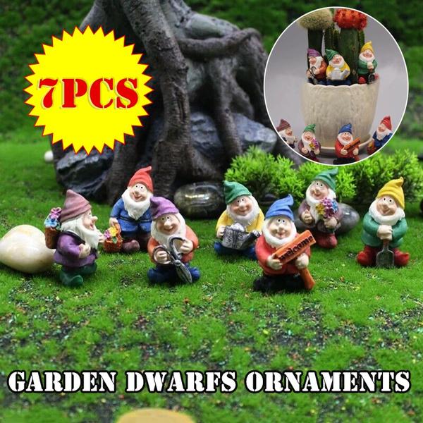Mini, Decor, Outdoor, gnome