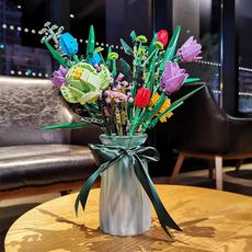 Toy, roseblock, Bouquet, Ornament