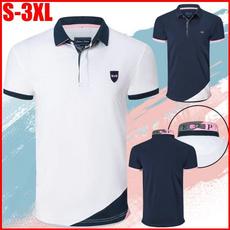 Summer, Shorts, Polo Shirts, Sleeve