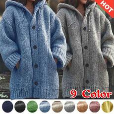 warmjacket, Women Blouse, Long Sleeve, Plus Size