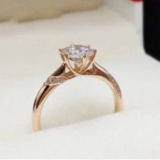 18k gold, 925 sterling silver, wedding ring, gold