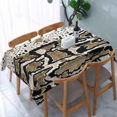 Home & Kitchen, Outdoor, animal print, embroideredtablecloth