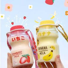 Kawaii, cute, portablelanyardcup, Bottle
