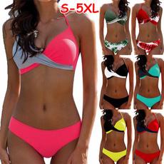 Summer, Underwear, women beachwear, bikini set
