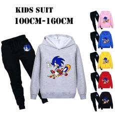 Casual Hoodie, hooded, kidsclothingset, pants