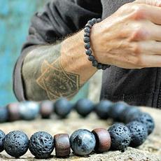 8MM, handmadebraceletsformen, Yoga, Jewelry