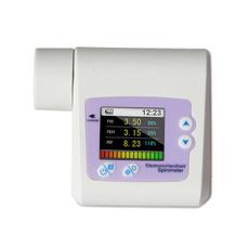 spirometer, spirometermouthpiece, spirometermachine, colorlcd