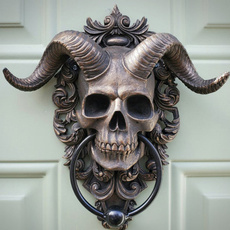 Door, Animal, skull, skullgoatheadwallhanging