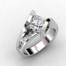 Sterling, wedding ring, 925 silver rings, Engagement Ring