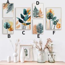Plants, art, Home Decor, Wall