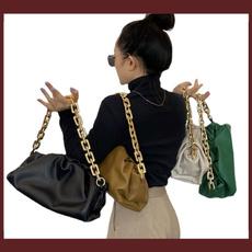 underarmbag, Jewelry, gold, cloudbag