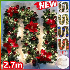 Decor, light up, Christmas, Garland