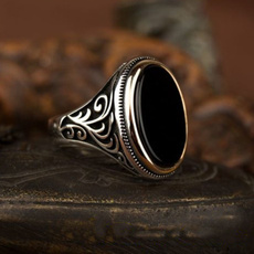Sterling, ringsformen, Silver Jewelry, DIAMOND