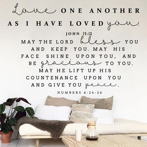biblesticker, Christian, christianbiblewalldecal, walldecoration