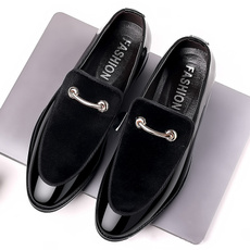 dress shoes, Suede, leather shoes, casual leather shoes