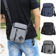 Shoulder Bags, portable, zipperbag, Men