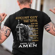 augustmenstshirt, christianwarriorshirt, Fashion, august