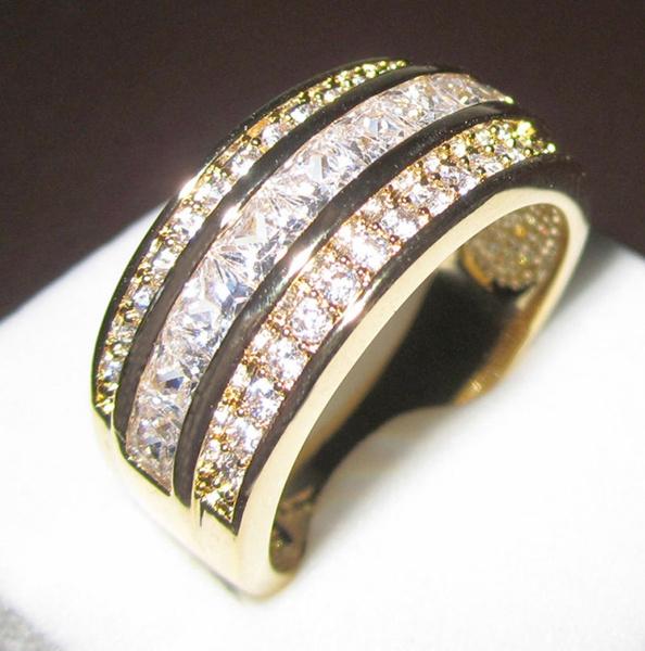 Men Jewelry, ringsformen, wedding ring, 10ktgoldring