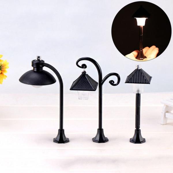Craft, Mini, Decor, miniaturestreetlamp