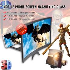 phonescreen, folding, phone holder, 3dphonescreenmagnifier