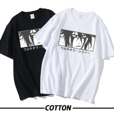 Summer, mangashirt, ulquiorracifer, Cotton Shirt