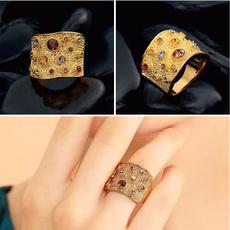 DIAMOND, Jewelry, gold, banquetring
