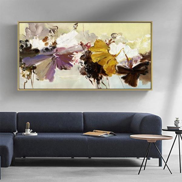 cuadro, Decor, Oil, living room