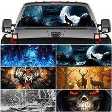 Car Sticker, skull, Cars, rearwindowdecal
