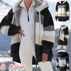 fur coat, fur, Winter, Sleeve