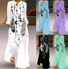 dressforwomen, Fashion, Sleeve, long dress