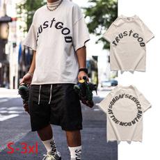 Fashion, kanyewesttshirtturstgod, Shirt, sundayservicetshirt