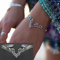 Antique, Charm Bracelet, Jewelry, Bracelet