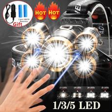 Flashlight, ledheadlamp, Head, LED Headlights