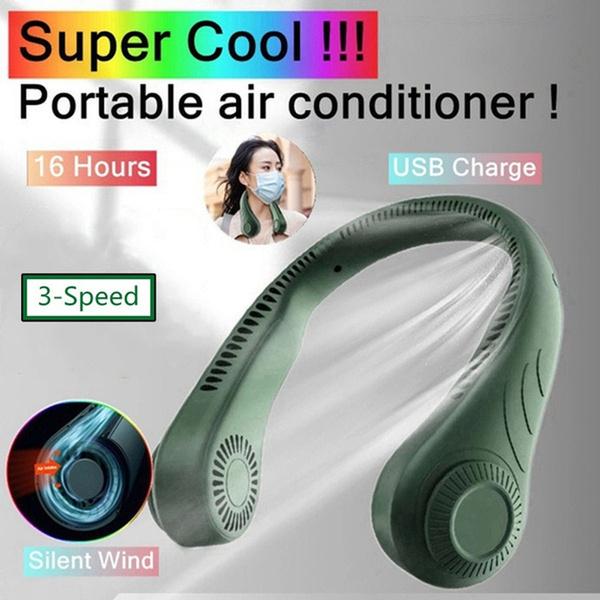 neckmountedfan, Headset, aircooler, Earphone