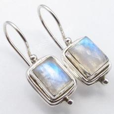 Sterling, rainbow, Hoop Earring, Jewelry