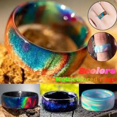 blackfireopalring, rainbow, Fashion, wedding ring