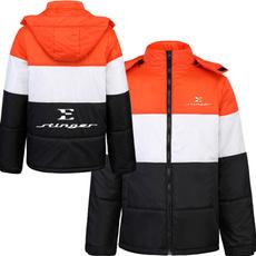 Fashion, Coats & Outerwear, Fleece Hoodie, slimjacket