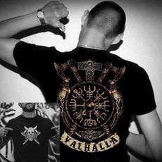 viking, For Men, skull, Mens T Shirt